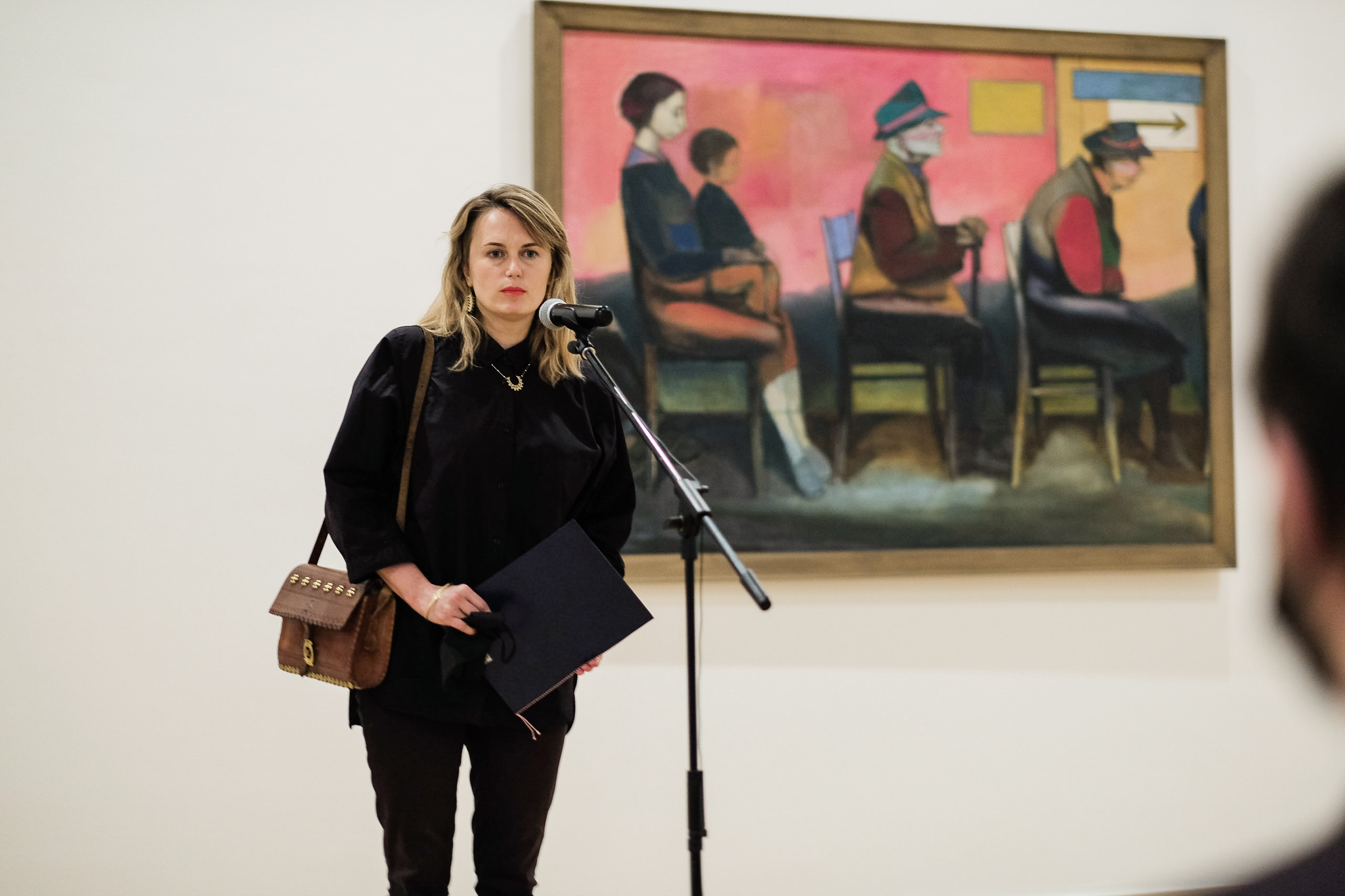Monika Grochowska, deputy director of Adam Mickiewicz Institute