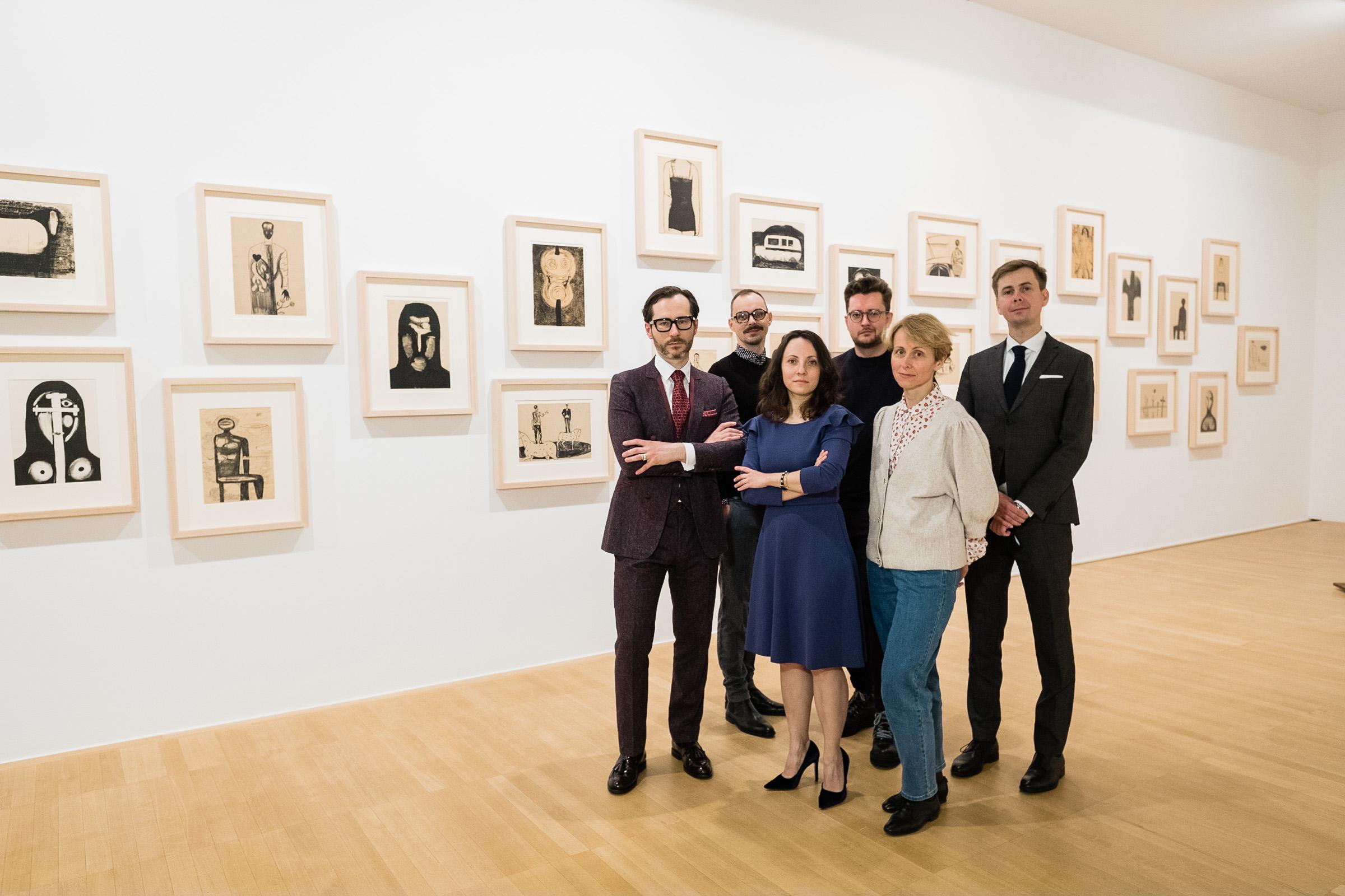 Team of Andrzej Wróblewski Foundation: Wojciech Grzybała, Marcin Sieradzki, Magdalena Ziółkowska, Kacper Czernij, Anna Krzyżanowska and Wojciech Jarosiński